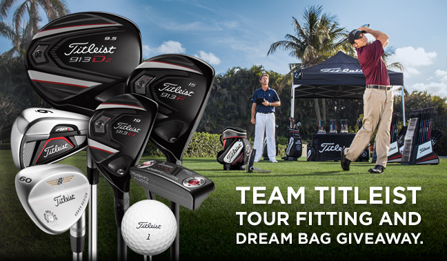 2012 Team Titleist Tour Fitting - Dream Bag Giveaway